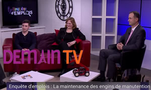Demain TV - manutention 30 janvier 2017